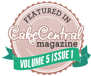 Featured in Cake Central Magazine Volume 5 Issue 1