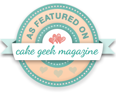 Featured in Cake Geek Magazine